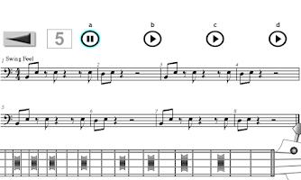 Screenshot of Learn how to play Bass Guitar.