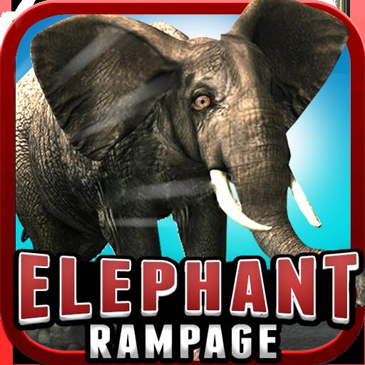 Elephant Rampage (3D Game ) LOGO-APP點子