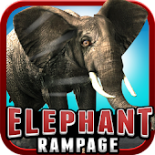 Elephant Rampage (3D Game )