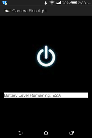 Flash Light + Battery Level