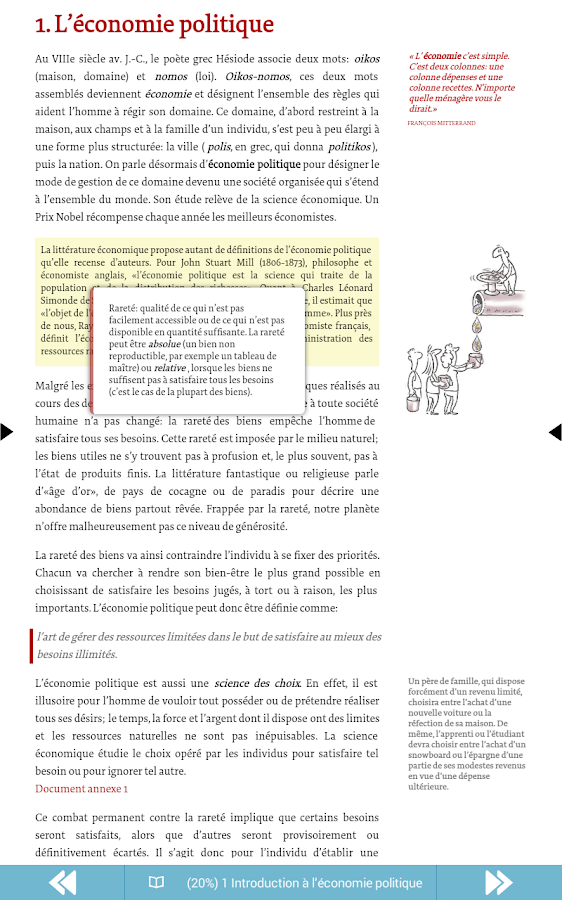 Publiwide Reader EPUB3- screenshot