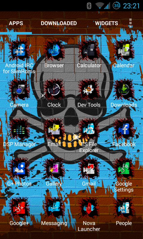 punk skull hd screenshot - photo #24
