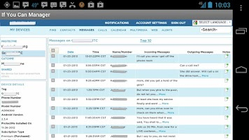 Screenshot of Protect Me If You Can -Monitor