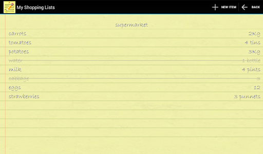 My Shopping Lists 1.1.3 screenshot 6