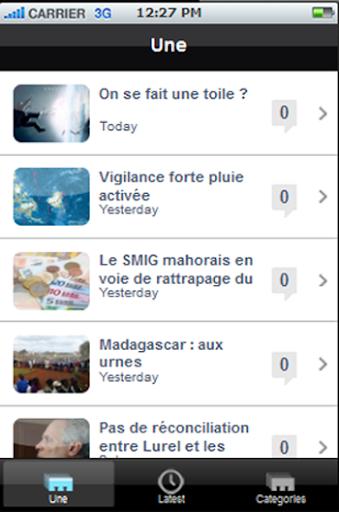 Le journal de Mayotte