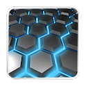 HONEYCOMB 3D LIVEWALLPAPER LWP icon