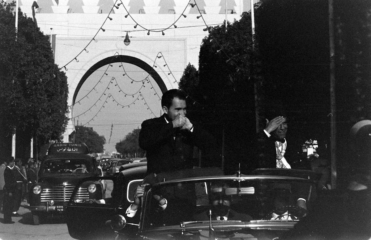 Nixon In Tunisia