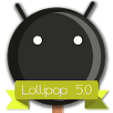 Lollipop 5.0 Dark Theme icon