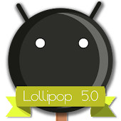 Lollipop 5.0 Dark Theme