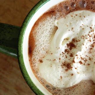 Almond Nutella Hot Chocolate.