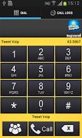 Screenshot of Tweet Voip