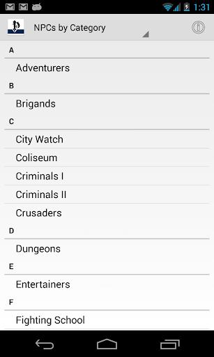 【免費書籍App】Pathfinder NPC Gallery-APP點子
