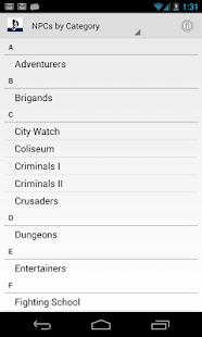 玩免費書籍APP|下載Pathfinder NPC Gallery app不用錢|硬是要APP