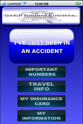 GRL Law's Accident App