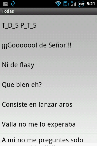 Frases de Forocoches - screenshot