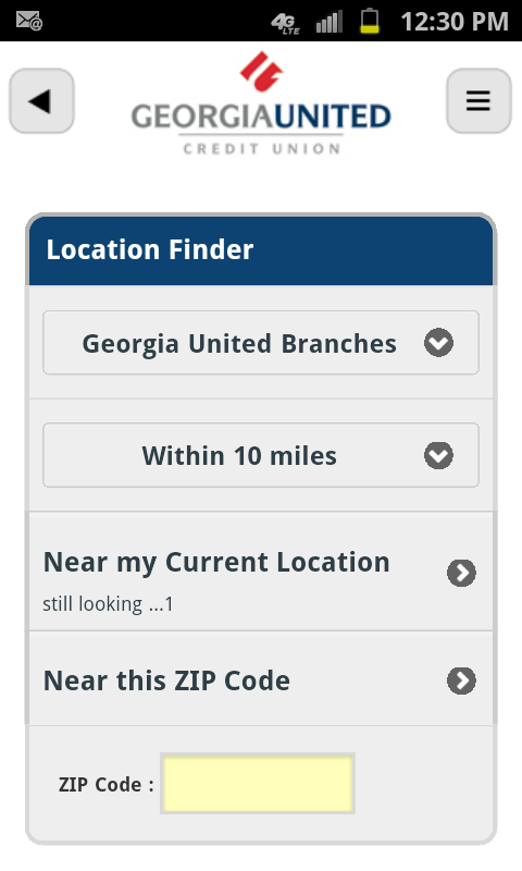 Georgia United Mobile - screenshot