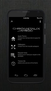 Black Chrometalix - Icon Pack v1.02