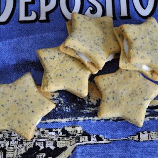 Lemon Poppy Sandwich Cookies