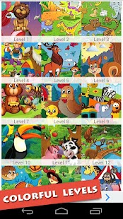 Kids Cartoon Animals Puzzle