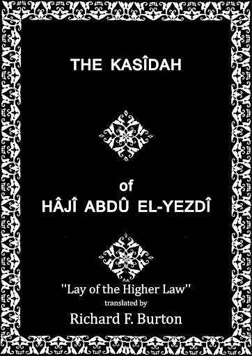 Kasidah of Hâjî Abdû El-Yezdî