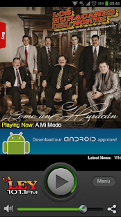La Ley 101.1 FM - screenshot thumbnail