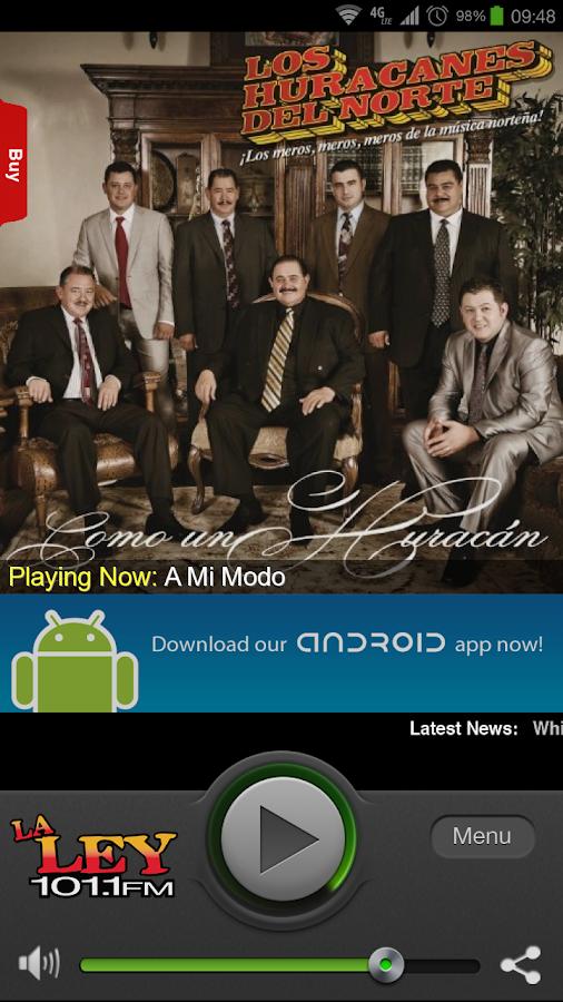 La Ley 101.1 FM - screenshot