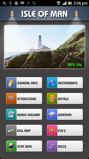 Isle Of Man Offline Map Guide