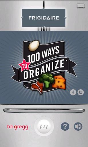 100 Ways To Organize