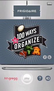 100 Ways To Organize - screenshot thumbnail