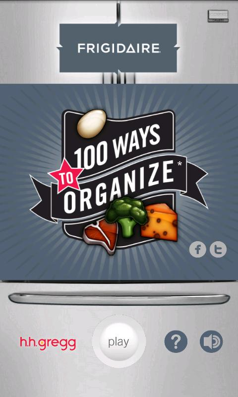 100 Ways To Organize - screenshot