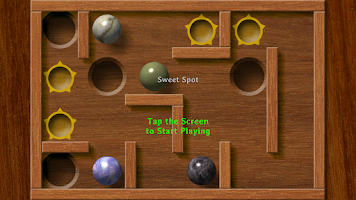 Screenshot of Plunk! the marble game
