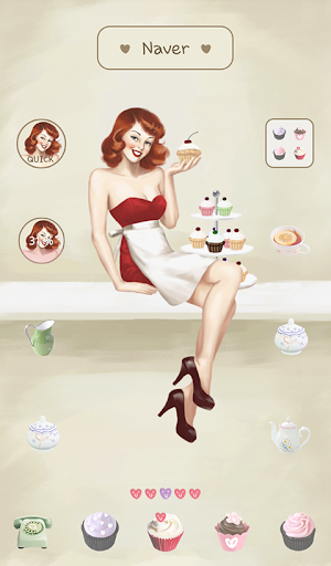 pinup girl cupcakes dodol