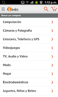 Linio App para Android - screenshot thumbnail