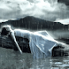 Girl Under Rain Live Wallpaper