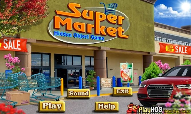 Super Market New Hidden Object - screenshot