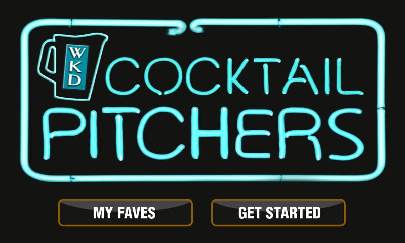 WKD Cocktails - screenshot