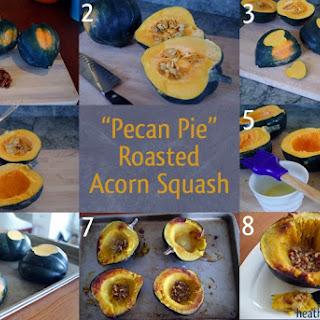 """""""Pecan Pie"""" Acorn Squash"""