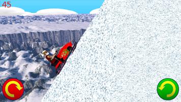 Screenshot of Snowmobile Santa - Racing Game
