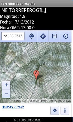 【免費工具App】Terremotos en España-APP點子