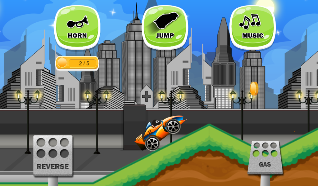 Car Racing Game Toddlers Kids- screenshot
