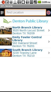Denton Public Library- screenshot thumbnail