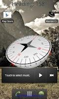 Screenshot of Marine Compass - White