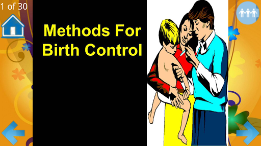 Methods For Birth Control
