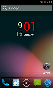 DiGTy Clock- screenshot thumbnail