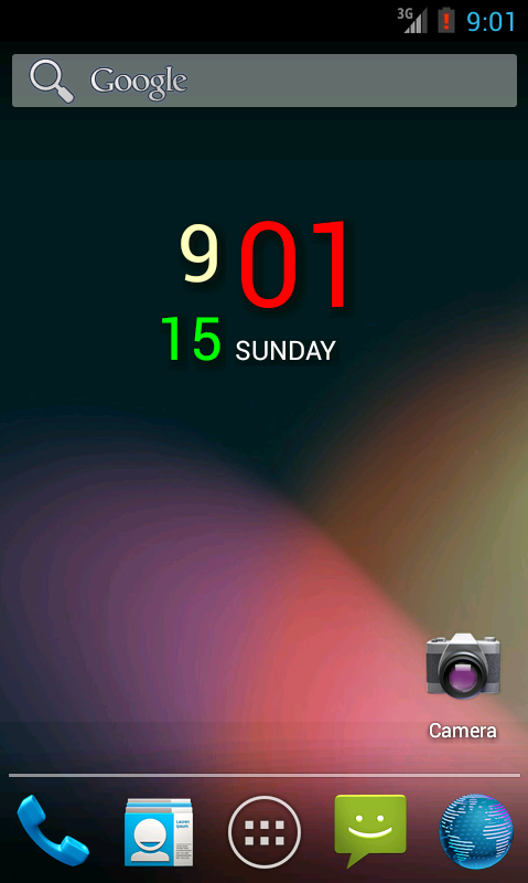 DiGTy Clock- screenshot