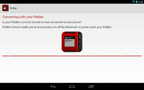 Pebble Unlock