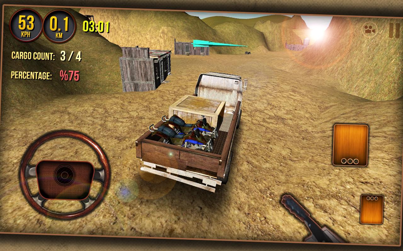 Cargo Truck Driver 3D 2014- screenshot