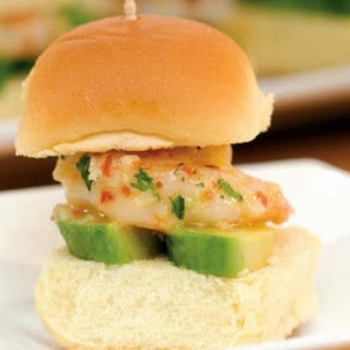 California Style Shrimp Sliders.