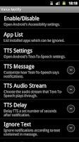 Screenshot of Voice Notify