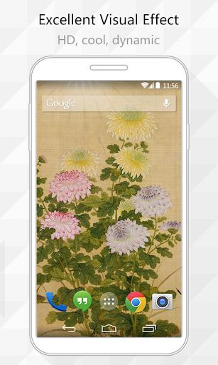Autumn Flower Live Wallpaper